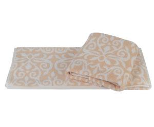 Махровое полотенце 70x140 VALENSIYA персиковый 100% Хлопок