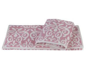 Махровое полотенце 50x90 VALENSIYA розовый 100% Хлопок