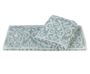 Махровое полотенце 50x90 VALENSIYA зелёный 100% Хлопок