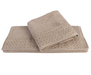 Махровое полотенце 100х150 MARSEL коричневый 100% Хлопок
