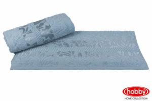 Махровое полотенце 100x150 VERSAL зелёный 100% Хлопок
