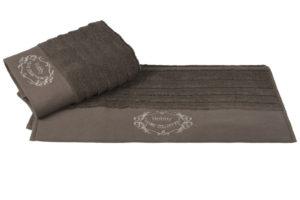 Махровое полотенце 70x140 ZAFIRA коричневый 100% Хлопок