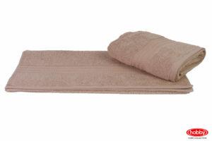 Махровое полотенце 70x140 RAINBOW бежевый 100% Хлопок
