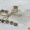 Махровое полотенце с выш. в коробке 50x90 FELISIA-tina белый 60% Бамбук 40% Хлопок