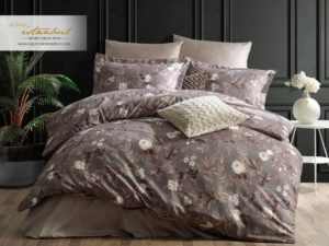 Комплект постельного белья сатин евро I.H. Saten Alvin Helen