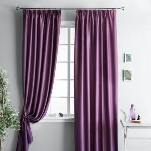 Комплект штор                   Блэквуд Фиолетовый                  2х140х250