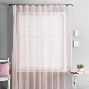 Портьера        Паури Розовый     490х290