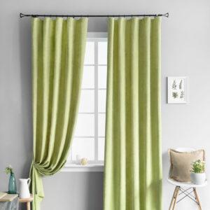 Комплект штор Тина Зеленый 2х145х270