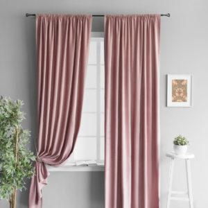 Комплект штор        Алисон Розовый       2х145х250