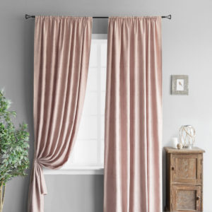 Комплект штор        Вики Розовый       2х145х270