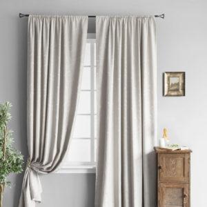 Комплект штор        Зоуи Светло-Серый       2х145х270