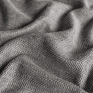 Декоративная ткань  Бадди  310 см Темно-серый