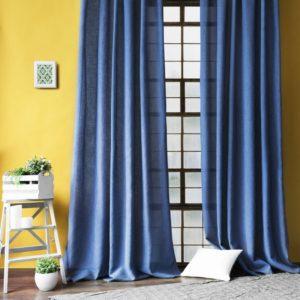Комплект штор  Фиджи  2х140х270 см Синий