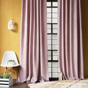 Комплект штор с подхватами  Бадди  2х200х270 см Розовый
