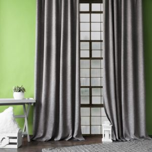 Комплект штор с подхватами  Конни  2х140х270 см Темно-серый