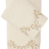 Комплект махровых полотенец с вышивкой VALOR Пудра
