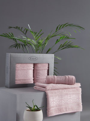 Комплект полотенец бамбук ARMOND Светло-лаванда