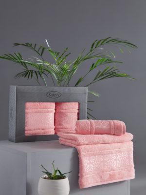 Комплект полотенец бамбук ARMOND Коралловый