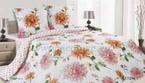Комплект постельного белья поплин Астры