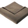 Плед Bocasa Pure cotton schokolade 251079