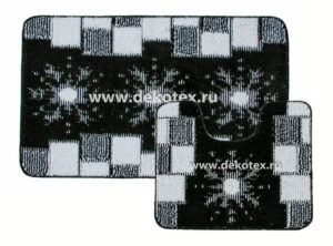 Комплект ковриков Banyolin Classic Color Диз. 15 60*100/50*60