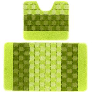 Комплект ковриков Banyolin Silver зеленый 60*100/50*60