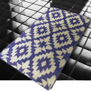 Коврик Banyolin Classic Color Орнамент голубой 60*100