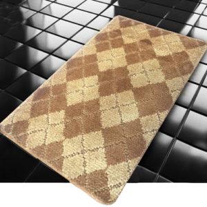 Коврик Banyolin Classic Color Квадраты коричневый 60*100