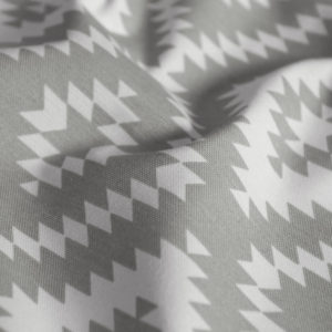 Декоративная ткань Алан 180 см Серый