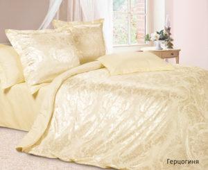 Комплект постельного белья сатин-жакккард Герцогиня
