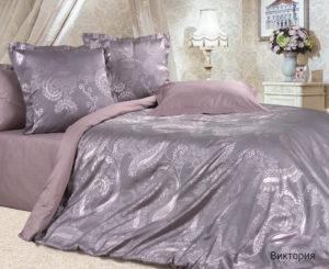 Комплект постельного белья сатин-жакккард Виктория