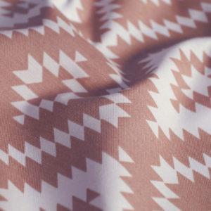 Декоративная ткань Алан 180 см Розовый