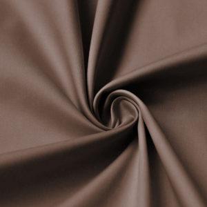 Сатин Ферги 245 см Темно-коричневый