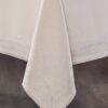 Скатерть KARNA с вышивкой  HONEY  160x300 см Кремовый