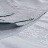 Скатерть KARNA жаккард CARAMEL 160x300 см Белый