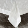 Скатерть KARNA с кантом NEO COTON 160x300 см Кремовый
