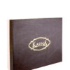 Скатерть жаккард KARNA VIPCOTON 160x220 см Белый c салфетками