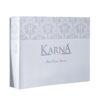 Покрывало жаккард KARNA CORDENYA 250x270 с с наволочками Стоне