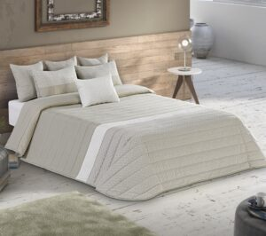 Покрывало Leiper Spring 2 Lino + 2 подушки 80% хлопок (Португалия)